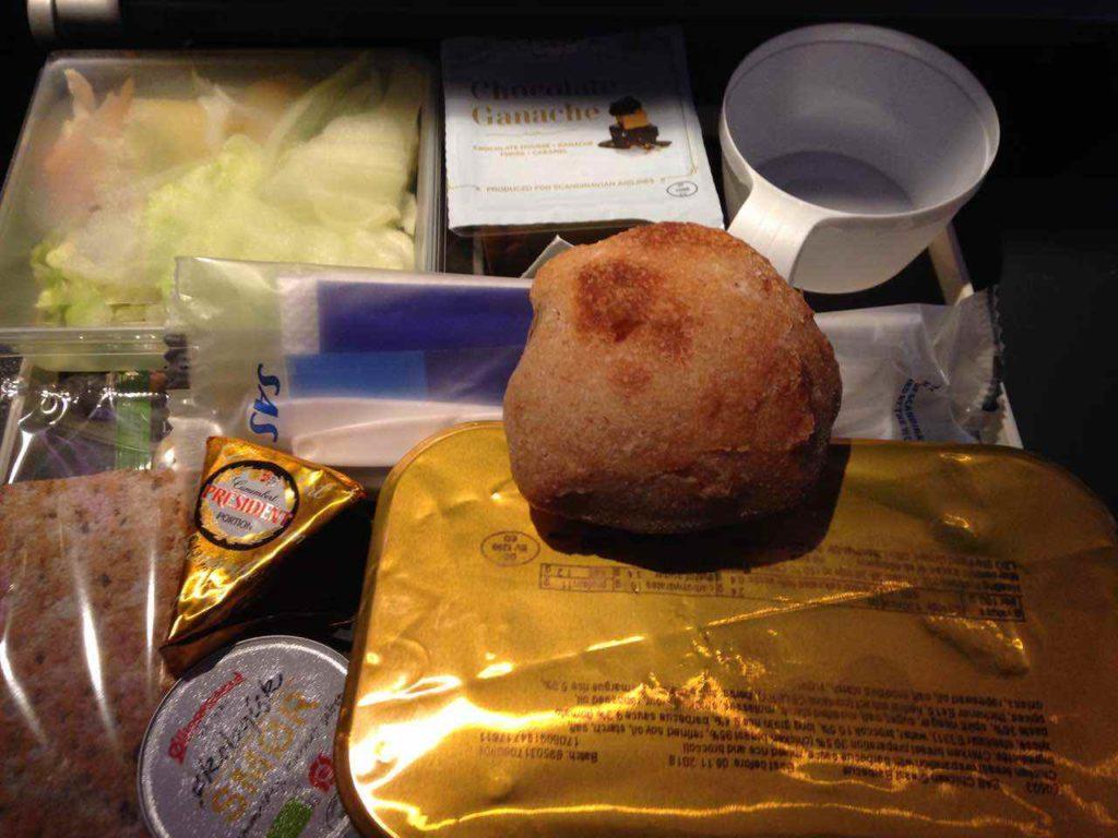 スカンジナビア航空SASの機内食