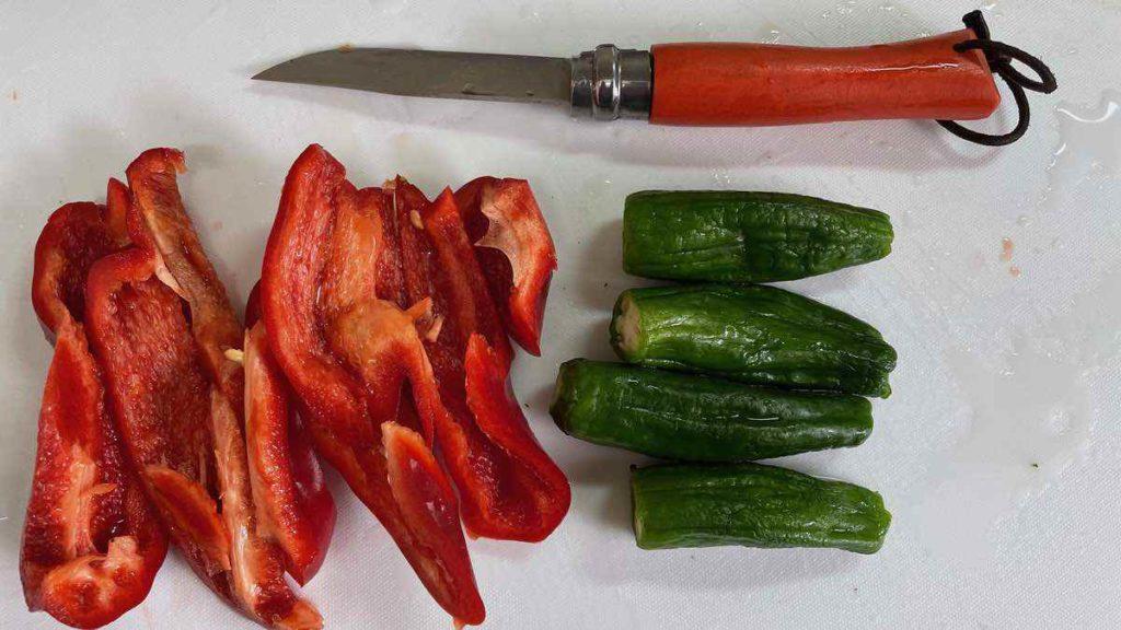 カットした野菜
